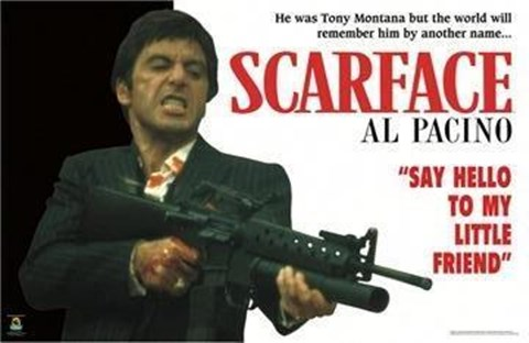 scarface horizontal gun