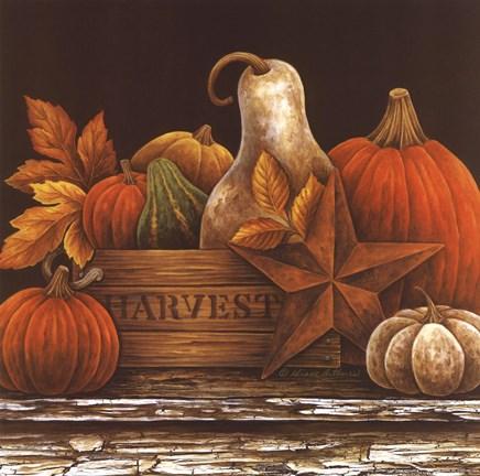 Fall Favorites Fine Art Print by Diane Arthurs at