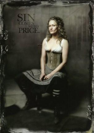 Deadwood Paula Malcomson as Trixie Fine Art Print by