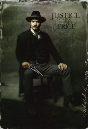 Deadwood Timothy Olyphant as Seth Bullock Fine Art Print by Unknown at FulcrumGallerycom
