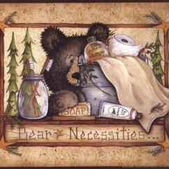 Kitchen Mats Mat Bear Necessities Fine Art Print By Mary Ann June At ...