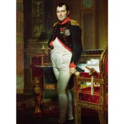 Canvas Prints For Living Room Best Green Paint Color Napoleon Bonaparte Fine Art Print By Jacques-louis David ...