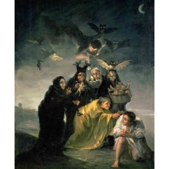 Best Kitchen Mats Nija The Witches' Sabbath Fine Art Print By Francisco De Goya ...