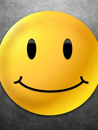 Smiley Face Fine Art Print by Unknown at FulcrumGallerycom