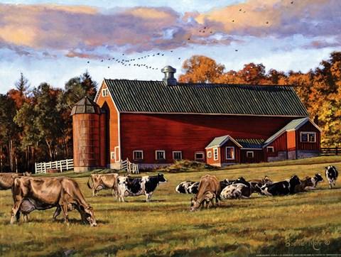 Autumn Splendor Fine Art Print by Bonnie Mohr at