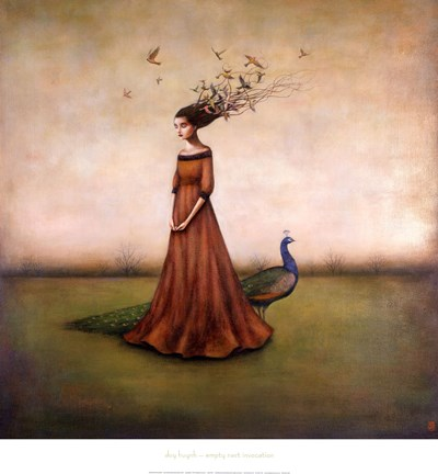 Empty Nest Invocation Fine Art Print by Duy Huynh at