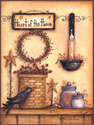 Heart of the House Fine Art Print by Mary Ann June at FulcrumGallerycom