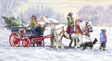 Pony Ride Fine Art Print By The Macneil Studio At