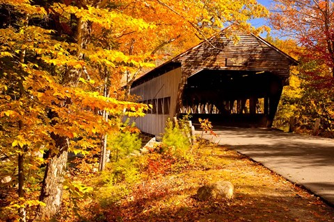 Albany Covered Bridge New Hampshire Fine Art Print by