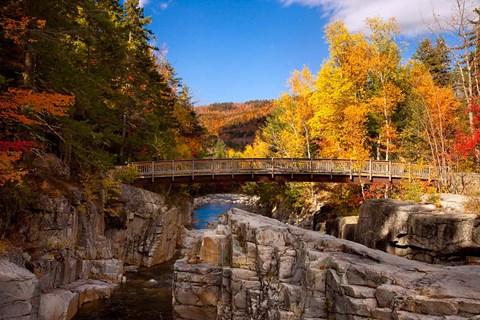 Bridge Swift River Waterfalls New Hampshire Fine Art