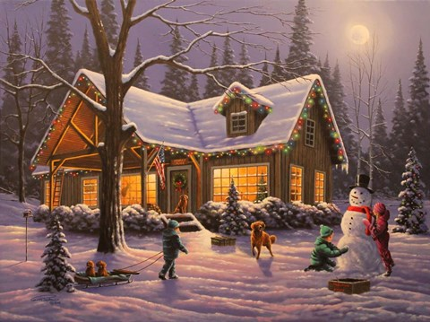 Family Tradition Fine Art Print By Geno Peoples At
