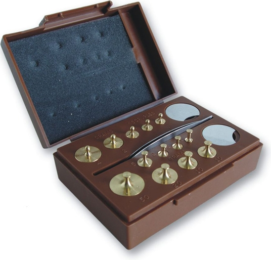 Combination Metric and Apothecary Weight Set MODEL TC105