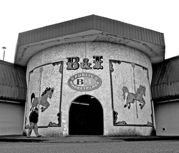The B&I Entrance