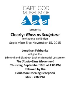 You are currently viewing Clearly: Glass as Sculpture at CCMoA