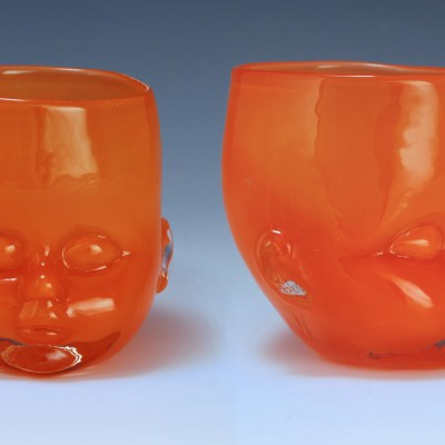 Baby Head Cup Orange