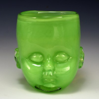 Baby Head Cup Green