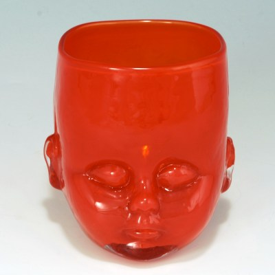 Baby Head Cup Red