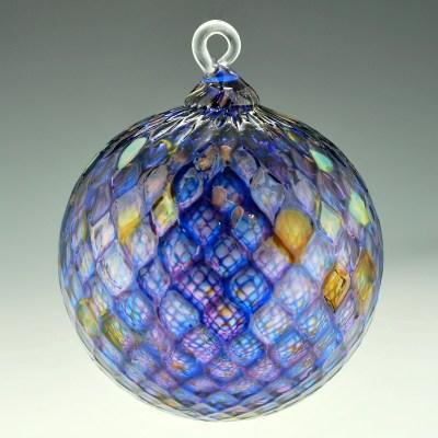 Diamond Facet Ornament – Purple