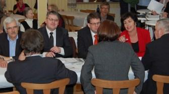 Bernd Eckhard, Ralf Zwengel, Dr. Heiko Wingenfeld, Birgit Kömpel; 4. Stefan Grauel, Sabine Waschke