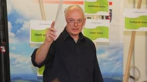 """Joachim Penz brachte die Teilprojekte von """"Fulda Futur"""" näher."""