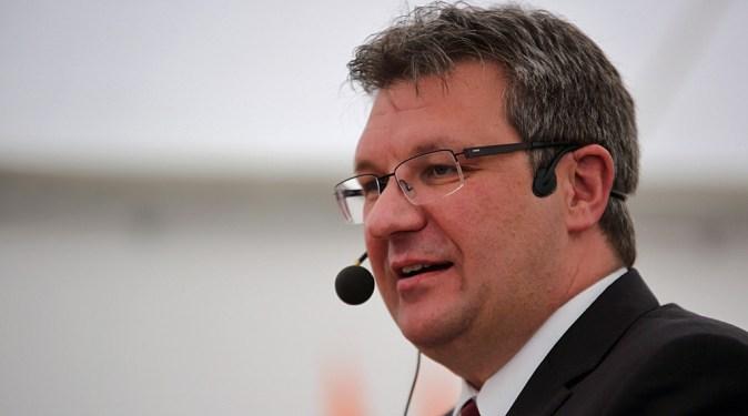 Vorstandsmitglied der VR Genossenschaftsbank Fulda Thomas Sälzer