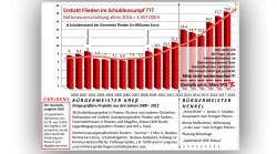 Grafik Schulden Flieden
