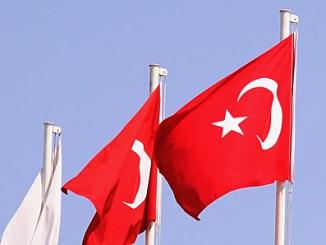 Fahnen in der Türkei