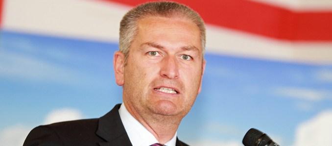 Landrat des Landkreises Fulda Bernd Woide (CDU)