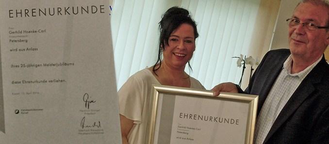 Friseur Innung Fulda Gratulierte Zum 25 Jährigen Meisterjubiläum
