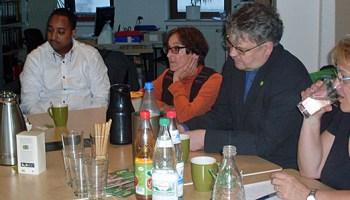 Grne Gratulieren Der Initiative Welcome In Zu Ihrem Wohnzimmer Fulda