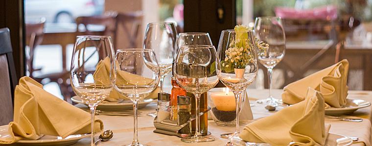 In Fulda sind Tische sehr oft vorbestellt ...