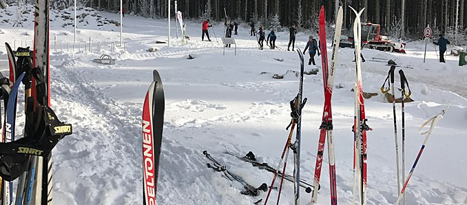 Wintersport, SKI