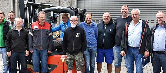 Druckerei E  Sauerland macht Mitarbeiter fit für