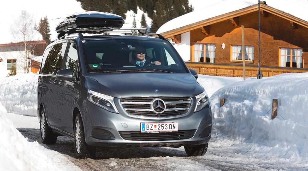 Mercedes-Benz V-Klasse. Foto: Daimler