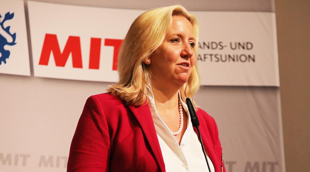 Ines Claus (CDU) bei der MIT-Hessen