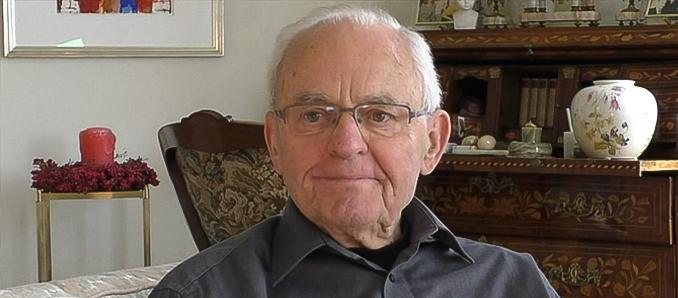 Landrat a.D. Fritz Kramer im Gespräch