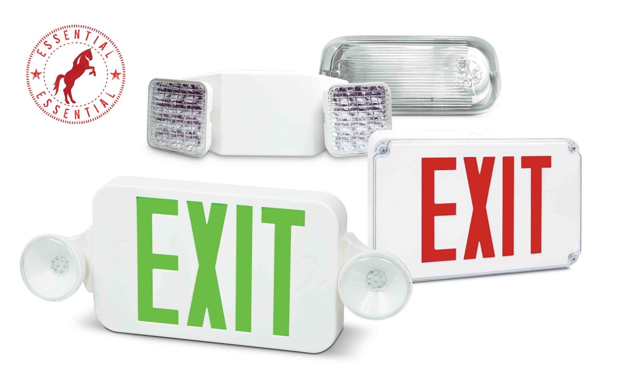 hight resolution of emergency lights