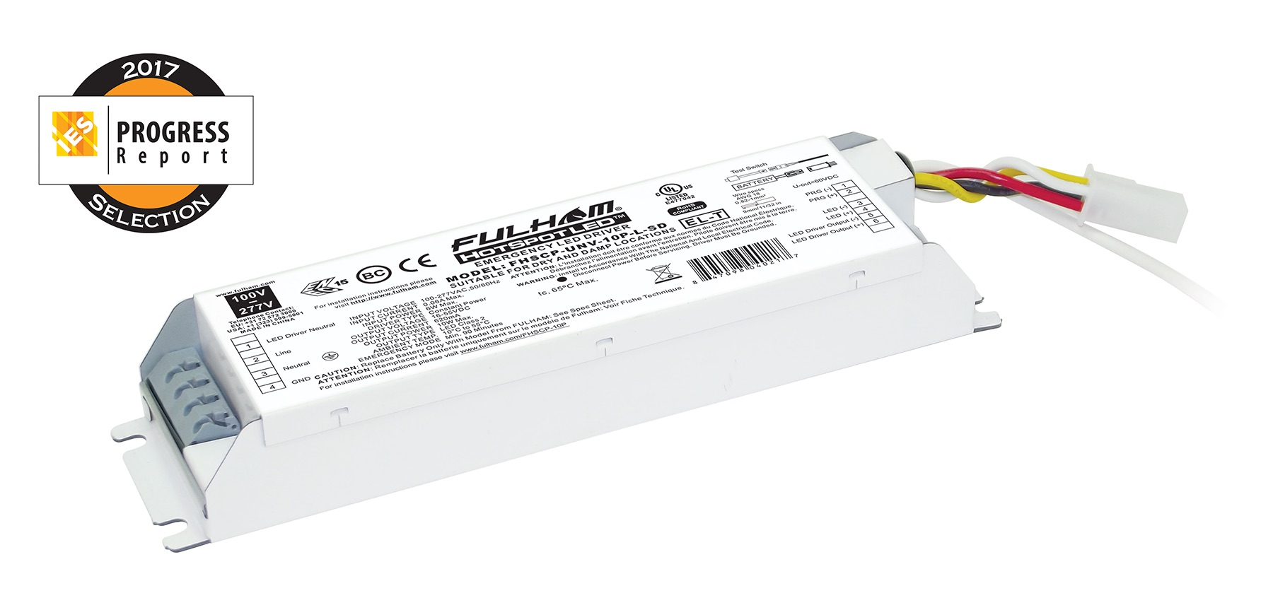 hight resolution of fulham hotspot constant power programmable led emergency driver