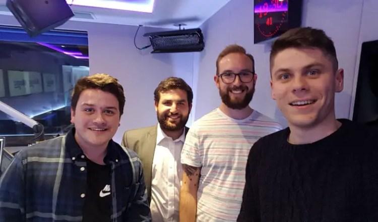 Photo of the Fulhamish Pod contributors