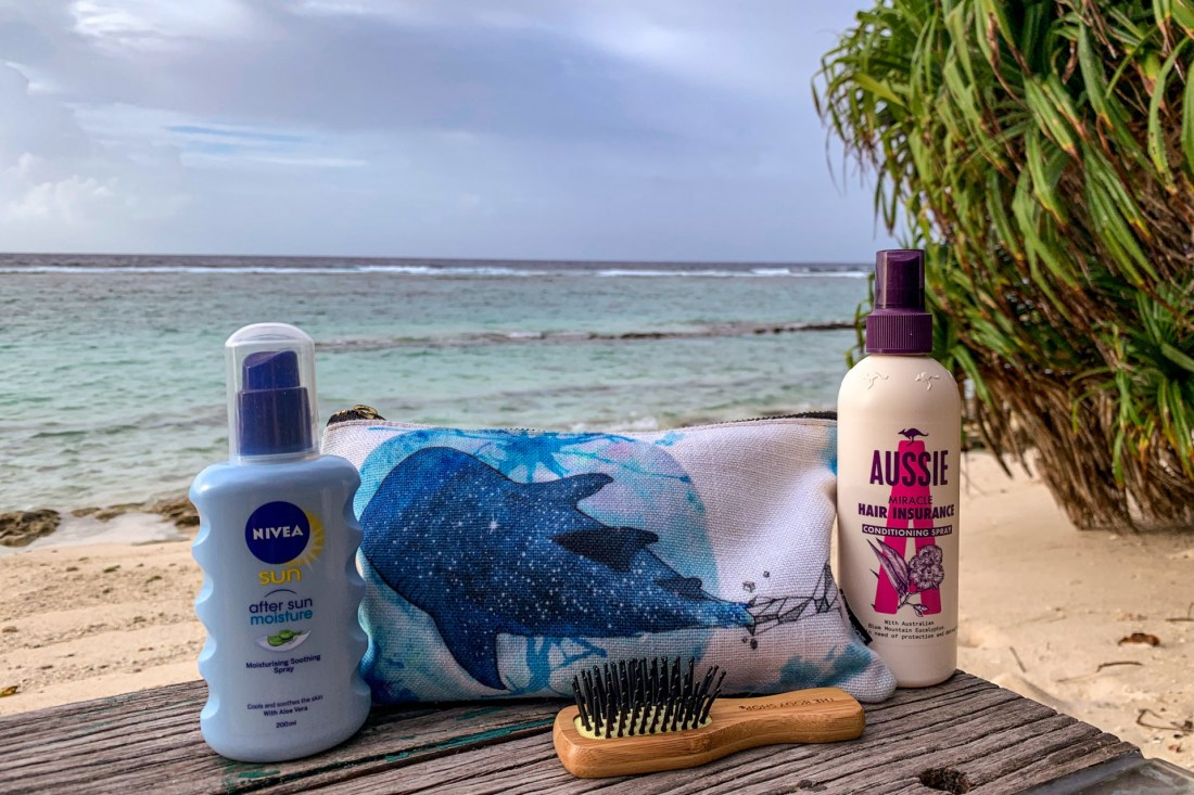 toiletries to pack for maldives