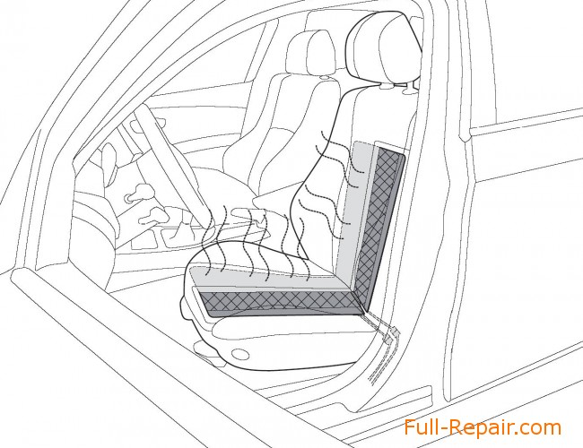 Seat Heater Installation at Hyundai Getz