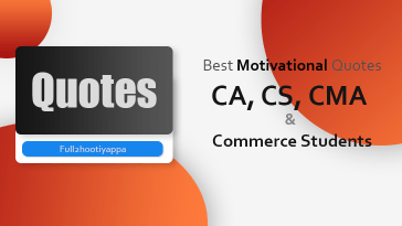 Best Motivational Quotes for CA, CS, CMA, Commerce Students