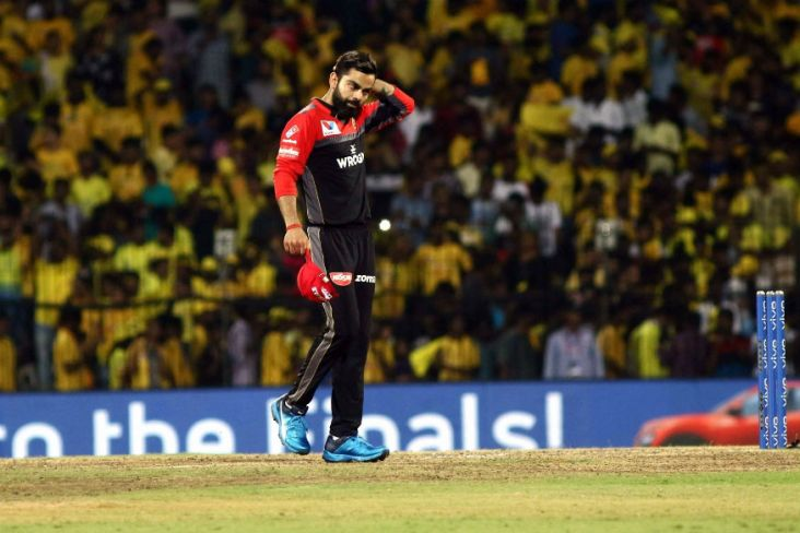 RCB vs DD RCB losses 6 Matches Continuously IPL2019