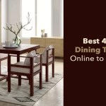 Best 4 Seater Dining Table Sets Online to buy in India