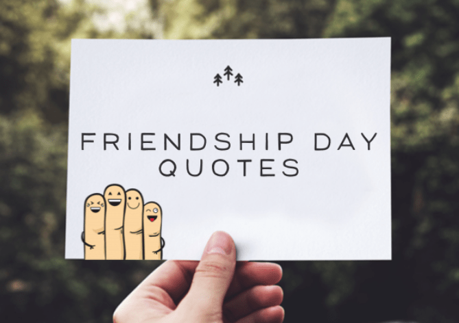 Best Friendship Day Quotes, Images, Messages