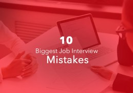 Biggest Job interview Mistakes