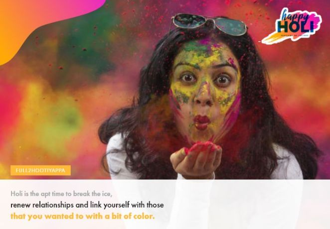 Happy Holi Romatic Wallpaper and Posts