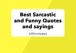 Sarcastic Funny and Inspirational Quotes about Life
