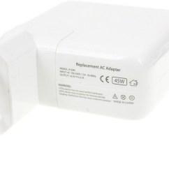 0 Amperage Macbook Battery 2006 Gmc Sierra Bose Stereo Wiring Diagram Cargador Para Portátil Apple Air Magsafe2 45w