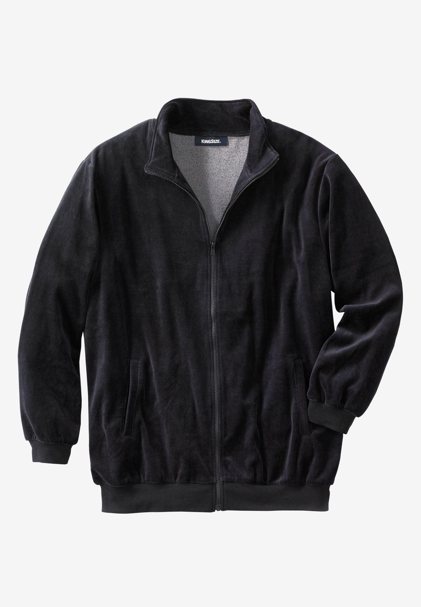 Velour Full Zip Jacket